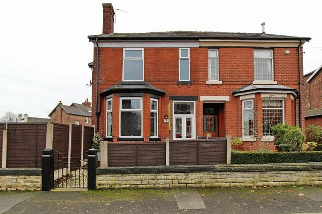 Thumbnail Semi-detached house for sale in Langley Road, Prestwich, Manchester
