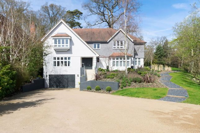 Thumbnail Detached House For Sale In Coombe Park Kingston Upon Thames