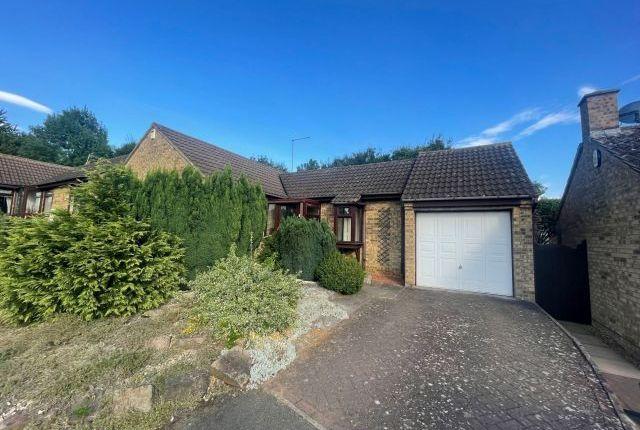 Thumbnail Detached bungalow for sale in Hawkridge, West Hunsbury, Northampton