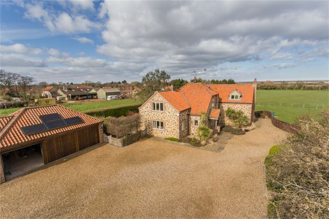 Thumbnail Detached house for sale in Thornham Road, Holme, Hunstanton
