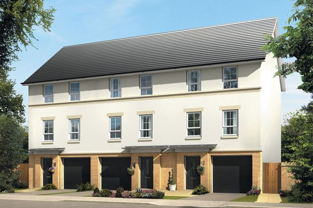"Thumbnail End terrace house for sale in ""Carradale"" at Liberton Gardens, Liberton, Edinburgh"