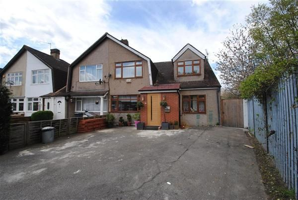 Thumbnail End terrace house for sale in Norfolk Road, Feltham