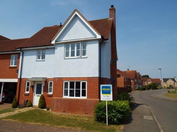 Thumbnail Link-detached house for sale in Downham Market, Kings Lynn, Norfolk