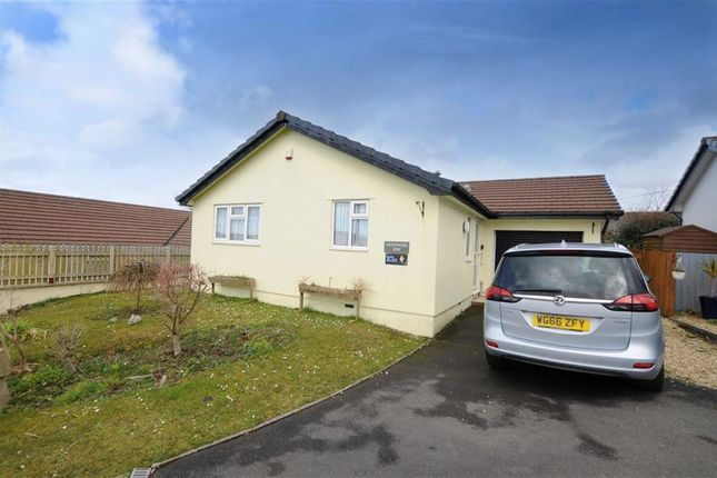 Thumbnail Detached bungalow for sale in The Greenwoods, Hartland, Devon