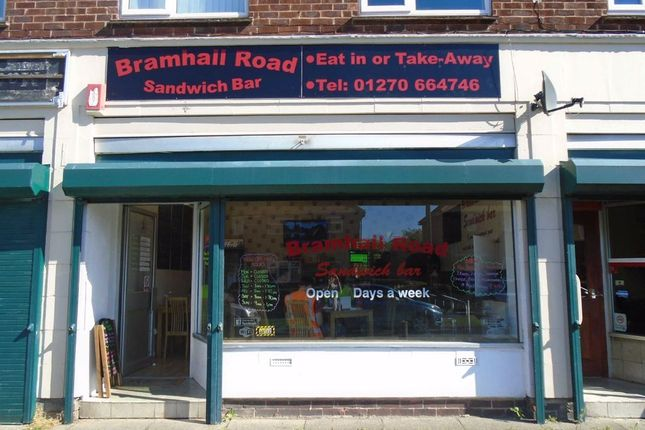 Thumbnail Retail premises to let in Bramhall Road, Crewe, Cheshire