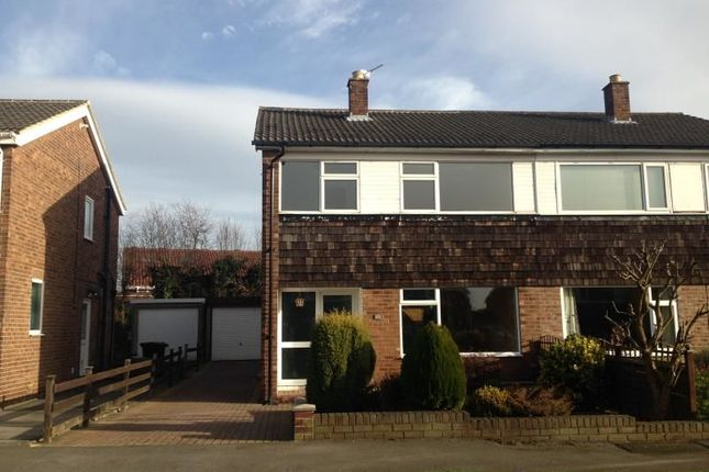 Thumbnail Semi-detached house to rent in Temple Avenue, Leeds