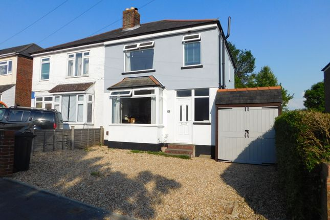 Thumbnail Semi-detached house to rent in Gladys Avenue, Cowplain, Waterlooville
