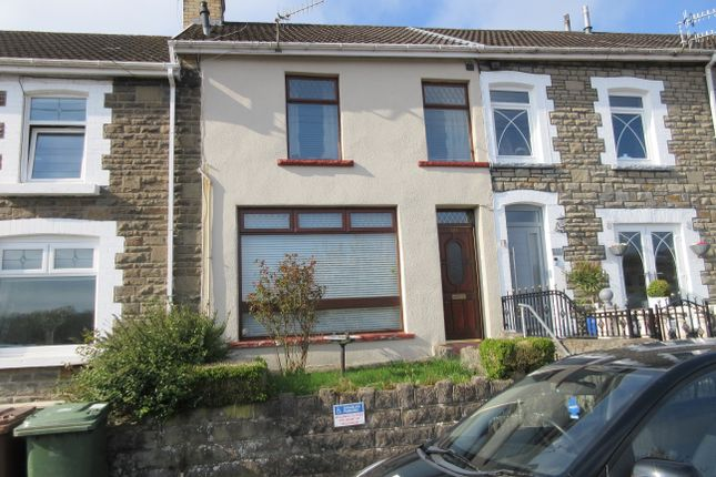 3 bed terraced house for sale in Lancayo Street, Bargoed CF81