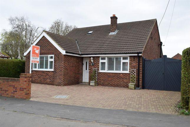 Thumbnail Detached bungalow for sale in Gravel Pit Lane, Kirmington, Ulceby