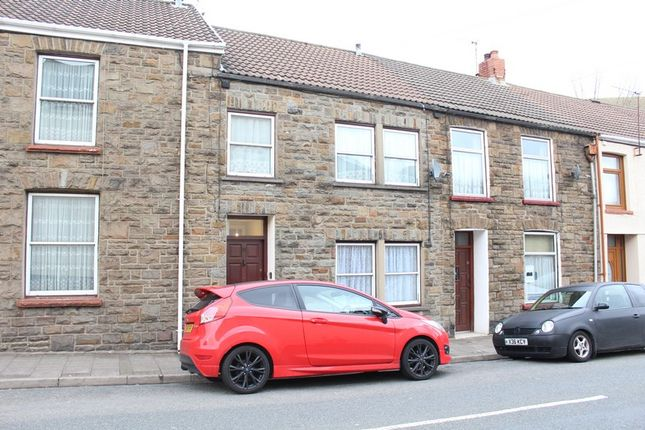 Thumbnail Terraced house to rent in Aberllechau Road, Porth