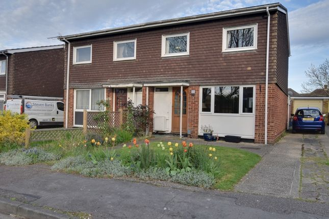 Thumbnail Semi-detached house for sale in Romany Close, Letchworth Garden City, Hertfordshire