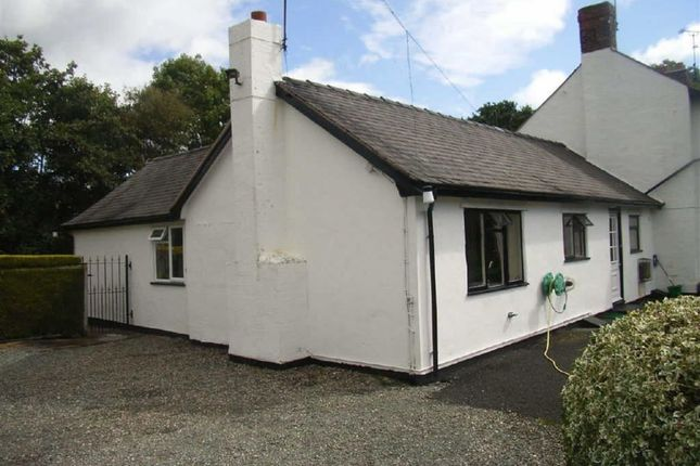 Thumbnail Semi-detached bungalow to rent in 1 Pentre House, St Martins, Oswestry
