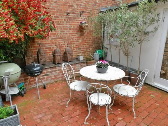Courtyard of High Street, Hadlow, Tonbridge, Kent TN11