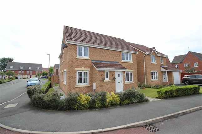 Thumbnail Detached house for sale in Vale Gardens, Springview, Wigan