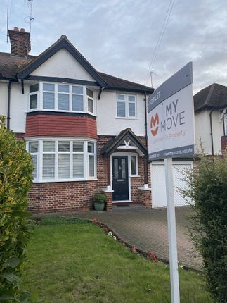 Thumbnail Semi-detached house to rent in Na The Rise, Uxbridge