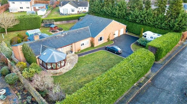 Thumbnail Detached bungalow for sale in Stonefield, Sandy Bank, Riding Mill, Northumberland.