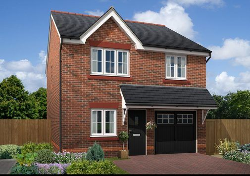 Thumbnail Detached house for sale in Off Boundary Park, Neston, Cheshire