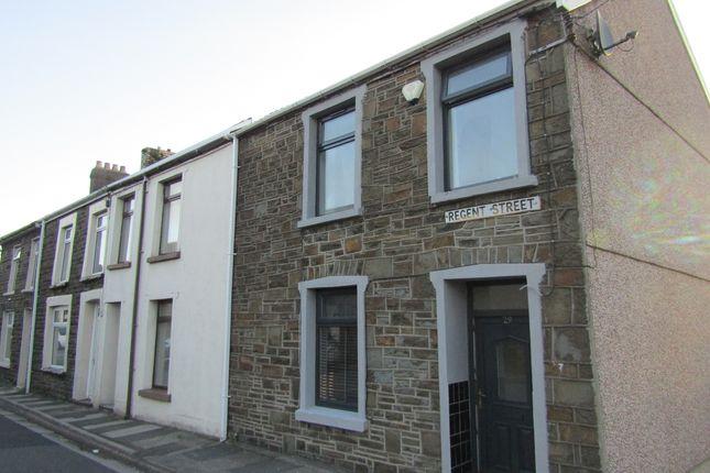 Thumbnail End terrace house for sale in Regent Street, Aberdare