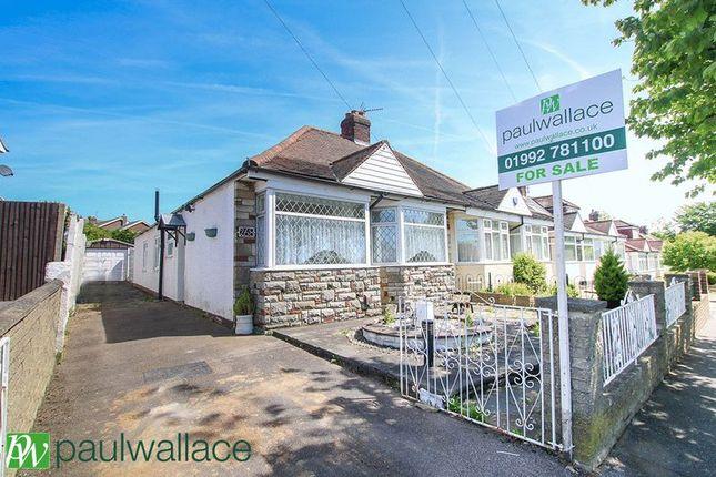 Thumbnail Semi-detached bungalow for sale in Hammondstreet Road, Cheshunt, Waltham Cross