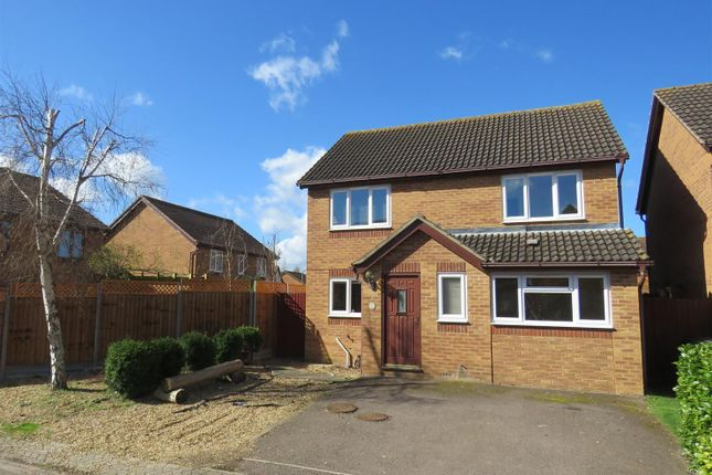 Thumbnail Detached house to rent in Lancaster Close, Warboys, Huntingdon