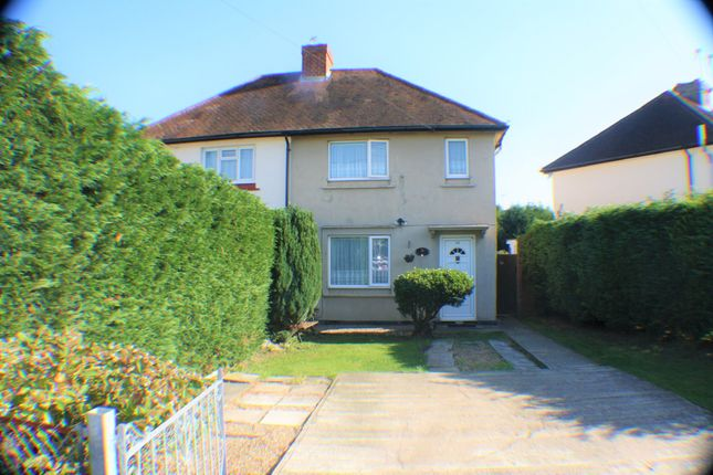 Thumbnail Semi-detached house for sale in Moreland Avenue, Colnbrook, Slough