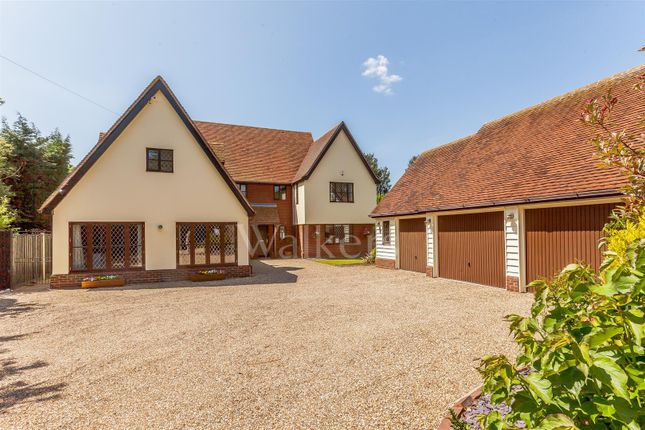 Thumbnail Detached house for sale in Plains Road, Little Totham, Maldon