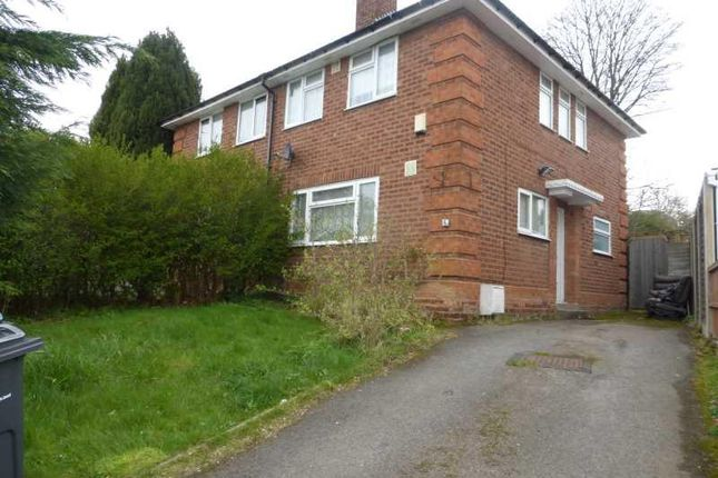 Thumbnail Semi-detached house for sale in Silverton Crescent, Moseley, Birmingham.