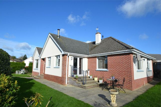 Thumbnail Detached bungalow for sale in Bickington, Barnstaple, Devon