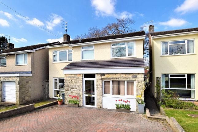 Thumbnail Detached house for sale in Clos Brynderi, Rhiwbina, Cardiff.