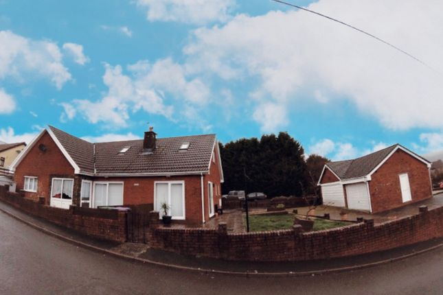 Thumbnail Detached house for sale in Castlewood, Talywain, Pontypool