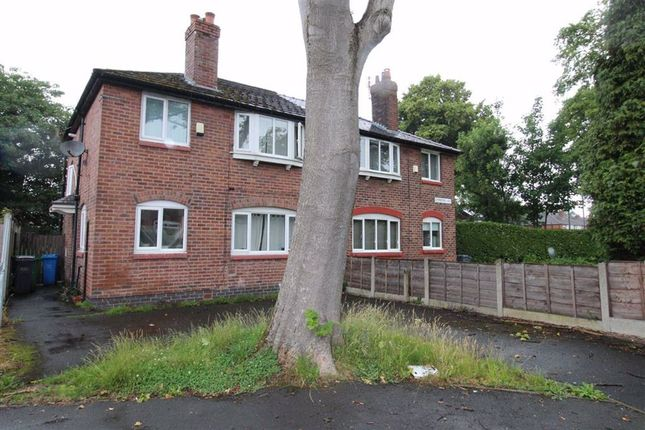 Thumbnail Semi-detached house for sale in Somerford Avenue, Withington, Manchester