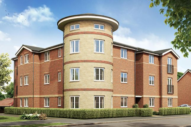 "Thumbnail Flat for sale in ""Lupin House"" at Godric Road, Newport"