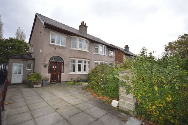 Thumbnail Semi-detached house for sale in Princes Boulevard, Bebington, Merseyside