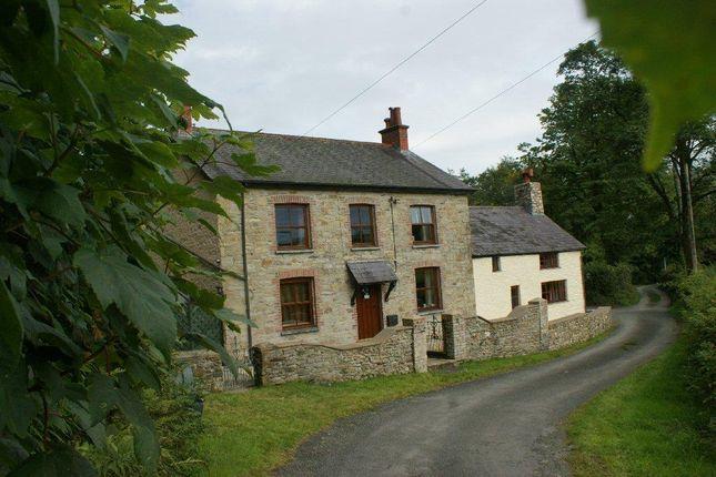 Thumbnail Farmhouse for sale in Rhydlewis, Llandysul