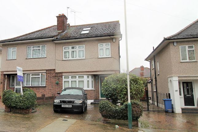 4 bed semi-detached house for sale in Silvermere Avenue, Romford