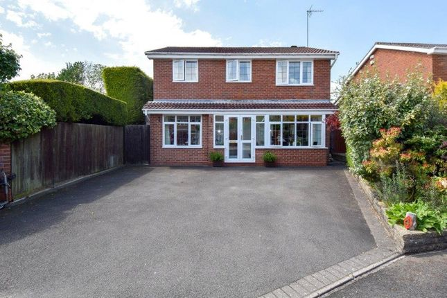 Thumbnail Detached house for sale in Hillmorton Close Church Hill North, Redditch
