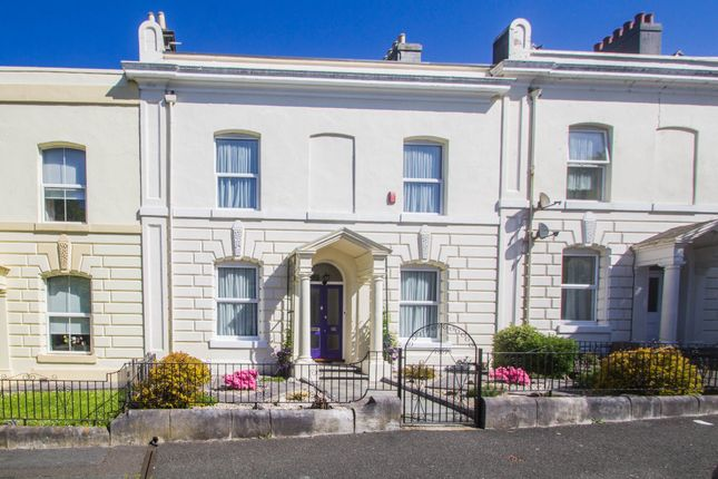 Thumbnail Terraced house for sale in Haddington Road, Stoke, Plymouth