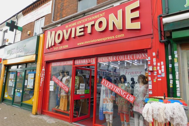 Thumbnail Retail premises for sale in 181 Alum Rock Road, Birmingham