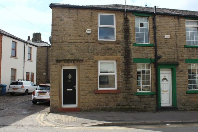 Thumbnail End terrace house to rent in Newhey Road, Milnrow, Rochdale