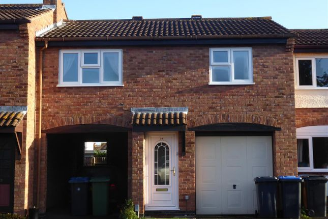 Thumbnail Terraced house to rent in Foxtail Close, Stratford-Upon-Avon