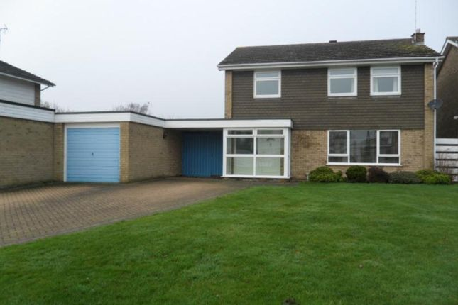 Thumbnail Detached house to rent in Apsley Way, Longthorpe, Peterborough