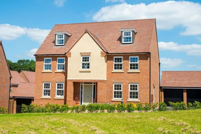 "Thumbnail Detached house for sale in ""Lichfield"" at Southern Cross, Wixams, Bedford"