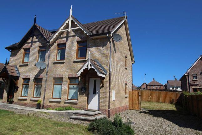 Thumbnail Semi-detached house for sale in Stonebridge Drive, Conlig, Newtownards
