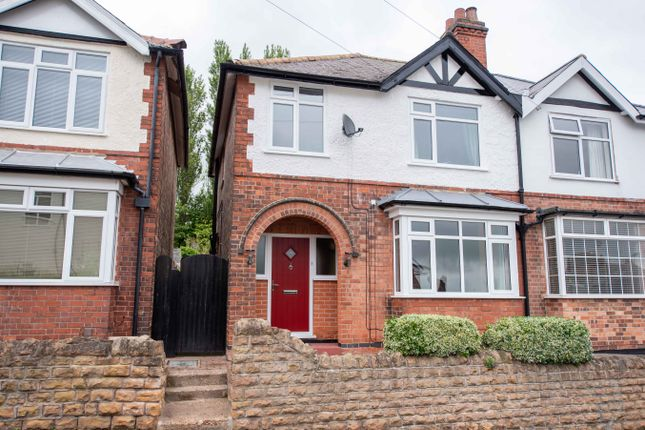 Thumbnail Semi-detached house for sale in Wheatfields Road, Thorneywood, Nottingham