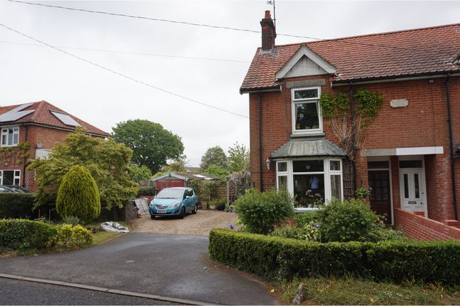 Thumbnail Semi-detached house for sale in Bredfield Road, Woodbridge