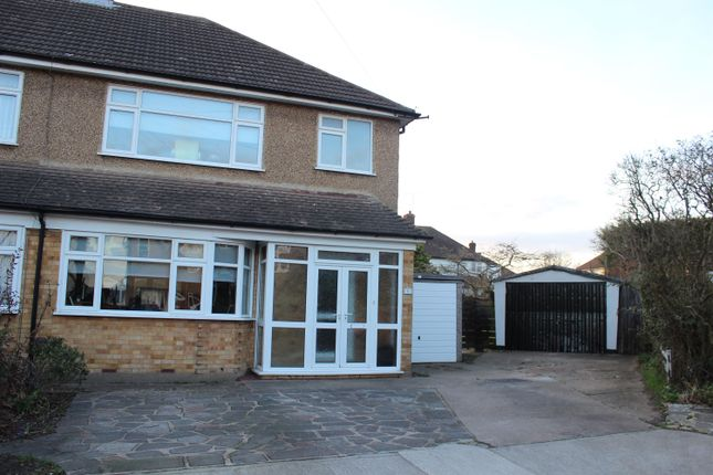 Thumbnail Semi-detached house to rent in Tyne Close, Upminster