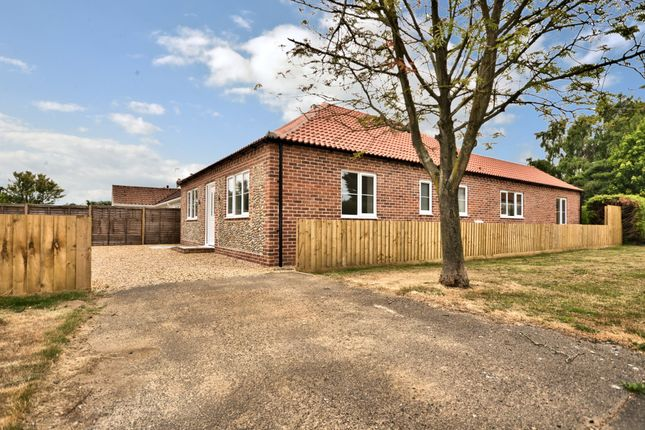 Thumbnail Detached bungalow for sale in Whissonsett Road, Colkirk, Fakenham