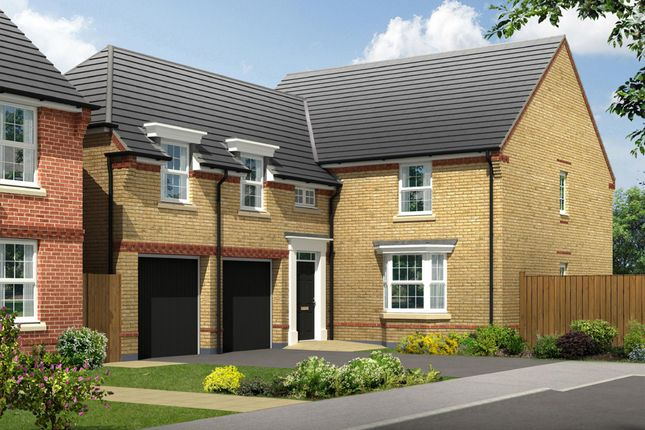 """Thumbnail Detached house for sale in """"Oulton"""" at Beancroft Road, Marston Moretaine, Bedford"""
