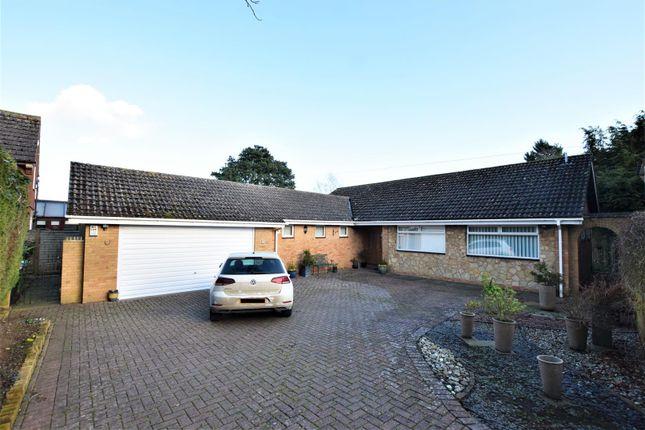 Thumbnail Detached bungalow for sale in Ranksborough Drive, Langham, Oakham