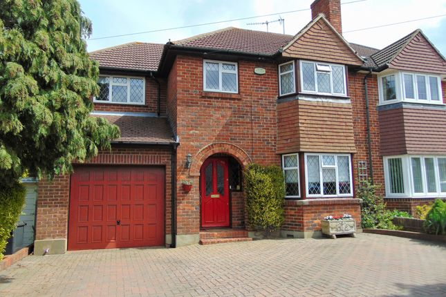 Thumbnail Semi-detached house for sale in Byron Road, South Croydon, Surrey